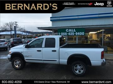 2006 Dodge Ram Pickup 2500 for sale in New Richmond, WI