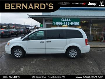 2008 Chrysler Town and Country for sale in New Richmond, WI