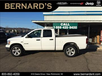 2008 Dodge Ram Pickup 1500 for sale in New Richmond, WI