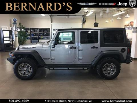 2017 Jeep Wrangler Unlimited for sale in New Richmond, WI