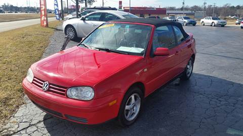 2000 Volkswagen Cabrio for sale in Machesney Park, IL