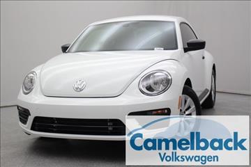 2017 Volkswagen Beetle for sale in Phoenix, AZ