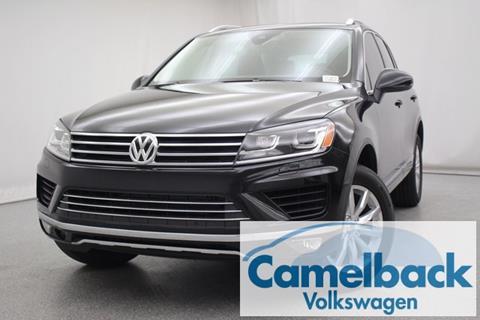 2017 Volkswagen Touareg for sale in Phoenix, AZ