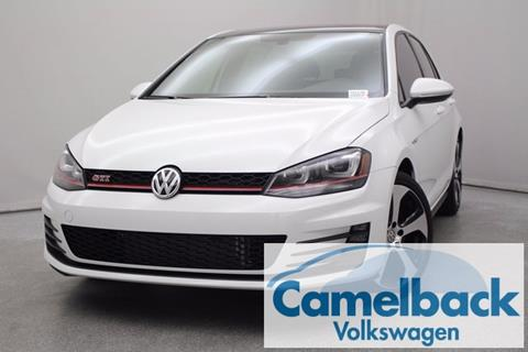 2017 Volkswagen Golf GTI for sale in Phoenix, AZ