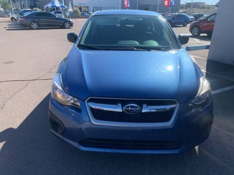 2014 Subaru Impreza 2.0i for sale at Camelback Volkswagen Subaru in Phoenix AZ