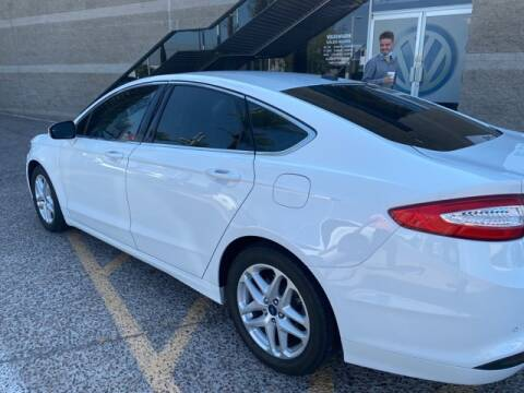 2015 Ford Fusion for sale at Camelback Volkswagen Subaru in Phoenix AZ