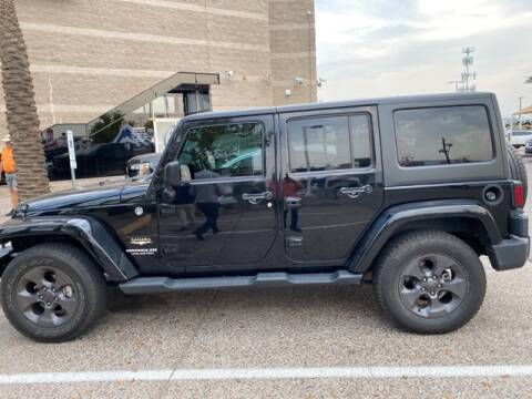 2014 Jeep Wrangler Unlimited for sale at Camelback Volkswagen Subaru in Phoenix AZ