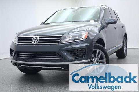 2016 Volkswagen Touareg for sale in Phoenix, AZ