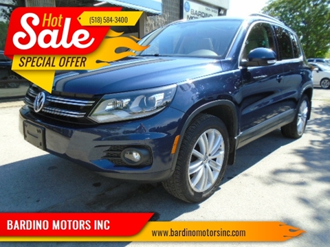 2016 Volkswagen Tiguan for sale in Saratoga Springs, NY