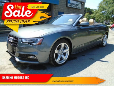2016 Audi A5 for sale in Saratoga Springs, NY