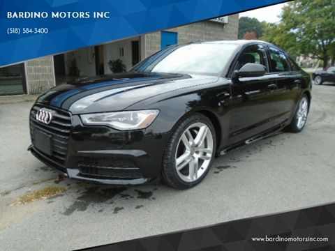 2016 Audi A6 for sale in Saratoga Springs, NY