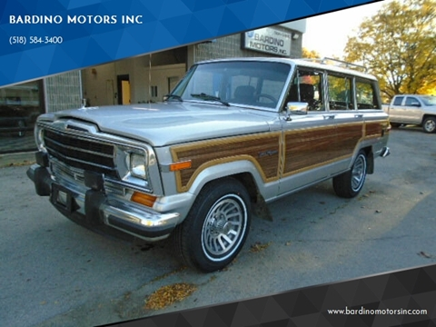 1990 Jeep Grand Wagoneer for sale in Saratoga Springs, NY