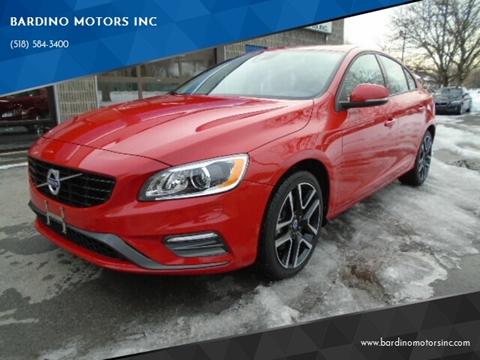 2017 Volvo S60 T5 Dynamic for sale at BARDINO MOTORS INC in Saratoga Springs NY
