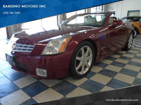 2006 Cadillac XLR for sale at BARDINO MOTORS INC in Saratoga Springs NY