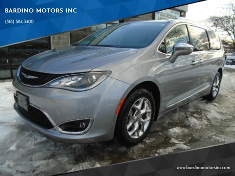 2017 Chrysler Pacifica Limited for sale at BARDINO MOTORS INC in Saratoga Springs NY
