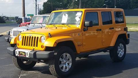 2012 Jeep Wrangler Unlimited for sale in Selbyville, DE