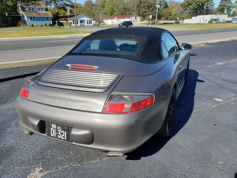 2003 Porsche 911 AWD Carrera 4 2dr Cabriolet - Selbyville DE