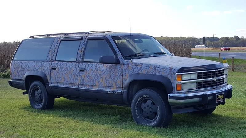 1993 Chevrolet Suburban 4dr K1500 4WD SUV - Selbyville DE