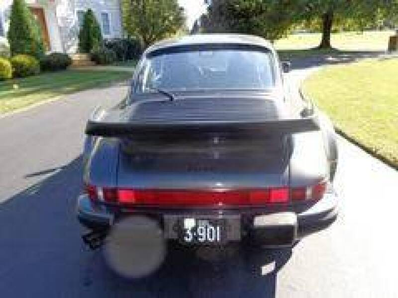 1989 Porsche 911 Carrera Turbo 2dr Coupe - Selbyville DE