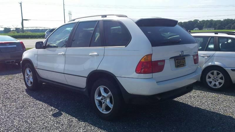 2002 Bmw X5 AWD 30i 4dr SUV In SELBYVILLE DE  J Wilgus Cars
