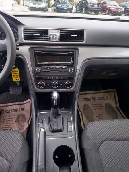 2012 Volkswagen Passat S 4dr Sedan 6A - Auburn ME