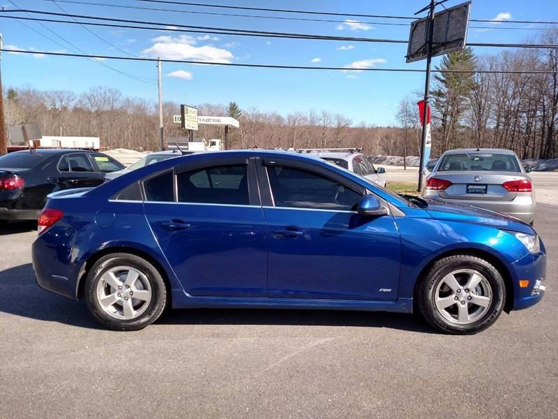 2012 Chevrolet Cruze LT 4dr Sedan w/1LT - Auburn ME