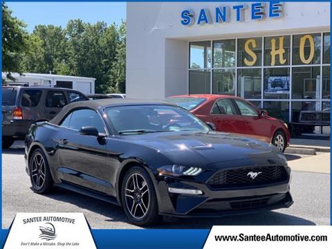 Car Dealerships In Sumter Sc >> 2018 Ford Mustang For Sale In Manning Sc