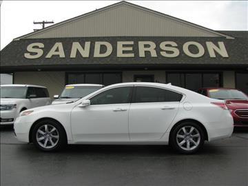 2013 Acura TL for sale in Auburn, IN