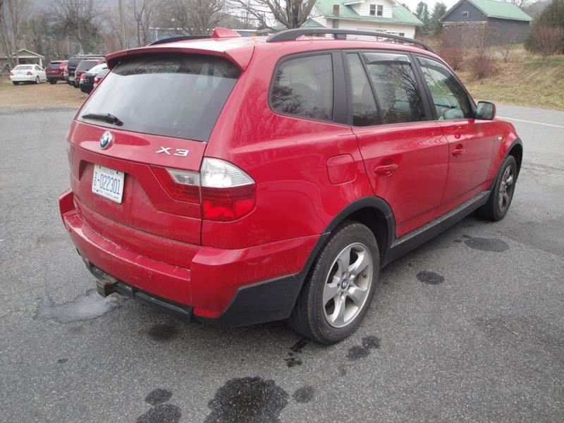 2007 bmw x3 awd 4dr suv in boone nc import auto sales service. Black Bedroom Furniture Sets. Home Design Ideas