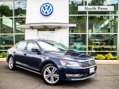 2015 Volkswagen Passat for sale in Colmar, PA