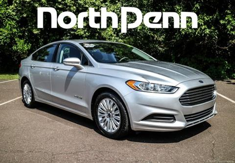 2014 Ford Fusion Hybrid for sale in Colmar PA