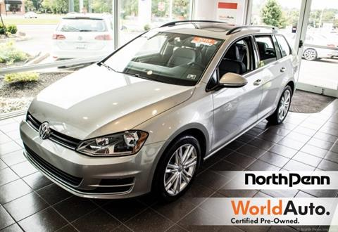 2015 Volkswagen Golf SportWagen for sale in Colmar, PA