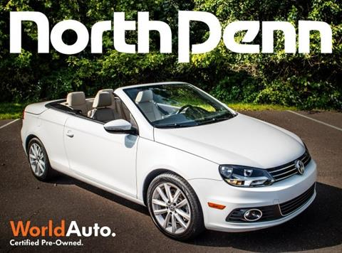 2015 Volkswagen Eos for sale in Colmar PA