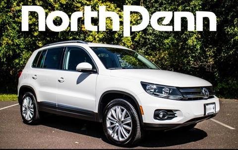 2012 Volkswagen Tiguan for sale in Colmar, PA