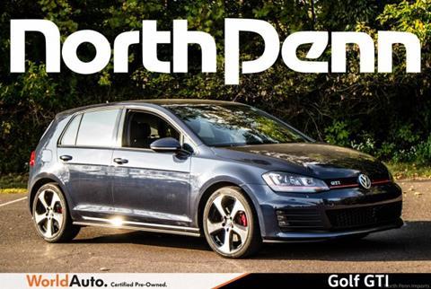 2015 Volkswagen Golf GTI for sale in Colmar, PA