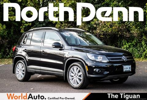 2014 Volkswagen Tiguan for sale in Colmar, PA
