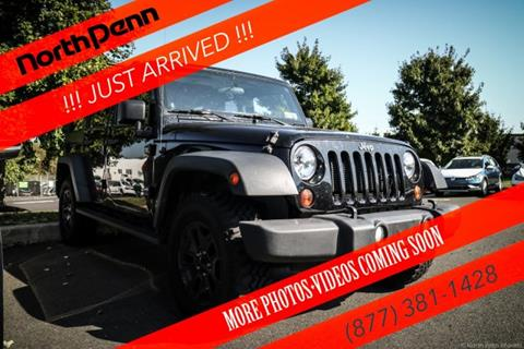 2012 Jeep Wrangler Unlimited for sale in Colmar, PA