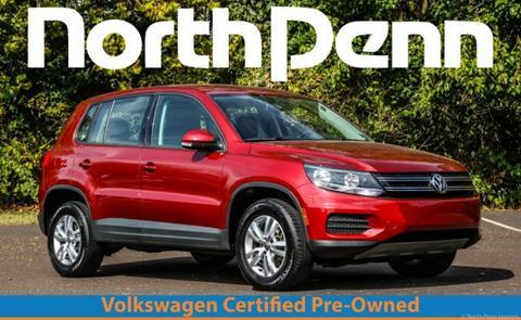 2014 Volkswagen Tiguan for sale in Colmar, PA