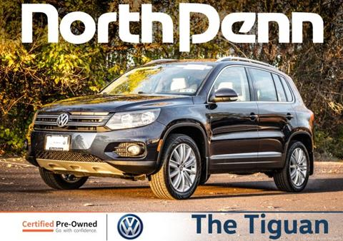 2015 Volkswagen Tiguan for sale in Colmar, PA