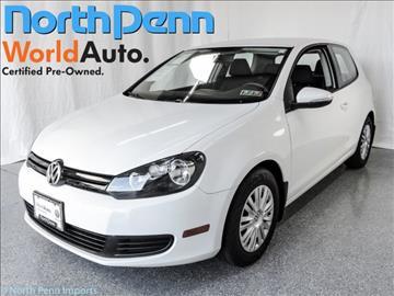 2013 Volkswagen Golf for sale in Colmar, PA