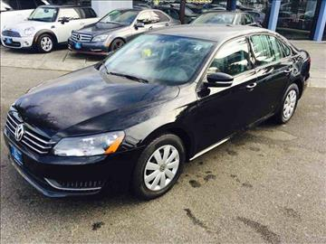 2013 Volkswagen Passat for sale in Lynnwood, WA