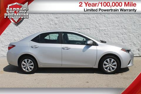 2014 Toyota Corolla for sale in Saint Peters, MO