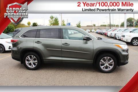 2014 Toyota Highlander for sale in Saint Peters MO