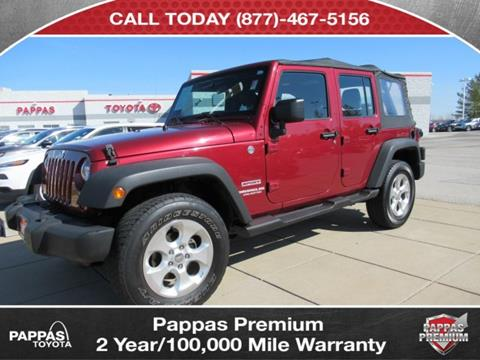 2012 Jeep Wrangler Unlimited for sale in Saint Peters, MO