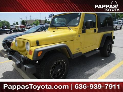 2004 Jeep Wrangler for sale in Saint Peters, MO