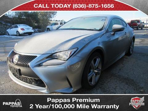 2016 Lexus RC 200t for sale in Saint Peters, MO