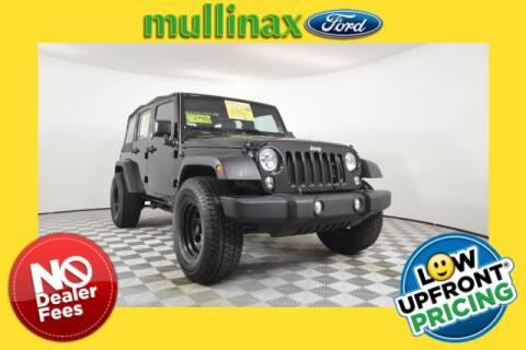 2017 Jeep Wrangler Unlimited for sale in Apopka, FL