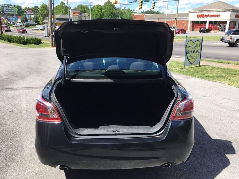 2013 Nissan Altima 2.5 4dr Sedan - Murfreesboro TN
