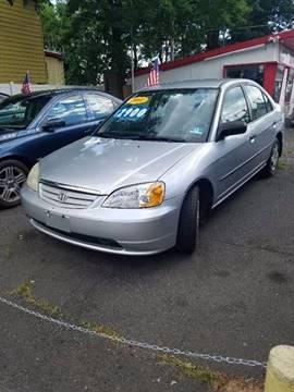 2001 Honda Civic for sale in Plainfield, NJ