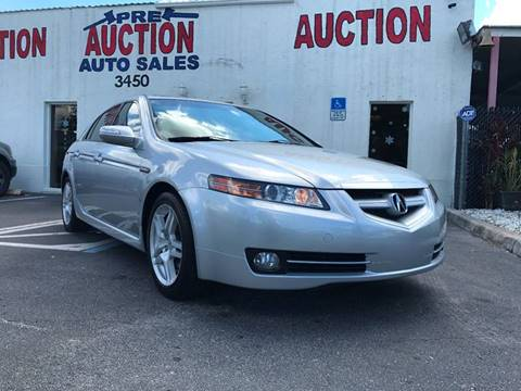 2008 Acura TL for sale in Lake Worth, FL